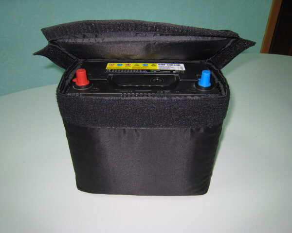 Термозащита автомобильного АКБ ТК-А1 размер 185*125*200 мм